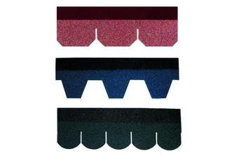 彩色<em style='color:red'>玻纤胎沥青瓦</em>图片