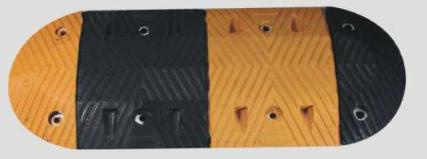 橡胶标准梯型<em style='color:red'>减速坡</em>图片