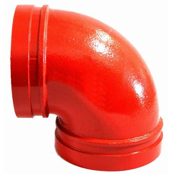 <em style='color:red'>溝槽</em><em style='color:red'>彎頭</em>90°圖片