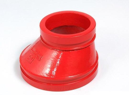 偏心沟槽螺纹式<em style='color:red'>异径管固</em>图片