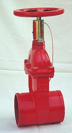 <em style='color:red'>卡箍</em><em style='color:red'>式</em><em style='color:red'>信号弹性座封闸阀</em>图片
