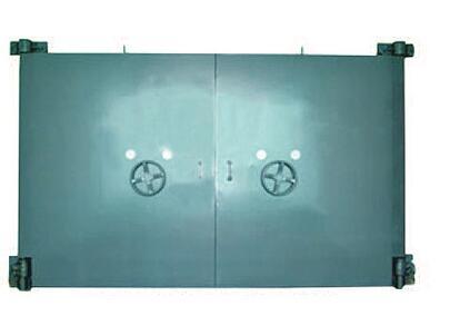 鋼結構活門檻雙扇密閉門圖片