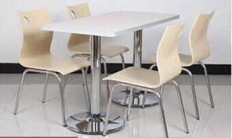 快餐<em style='color:red'>桌椅</em>图片