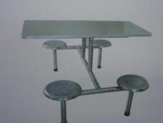 不锈钢快餐<em style='color:red'>桌椅</em>图片