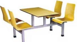 防火板快餐<em style='color:red'>桌椅</em>图片
