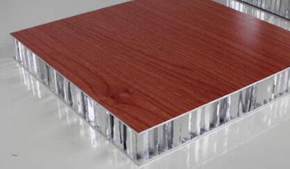 贴天然<em style='color:red'>实木皮</em>铝蜂窝板图片
