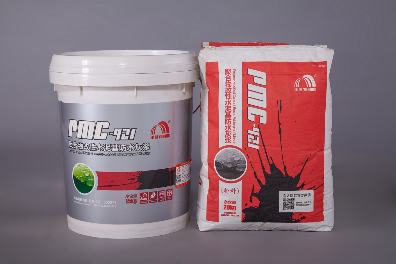 PMC-421 聚合物改性水泥基<em style='color:red'>防水灰浆</em>图片