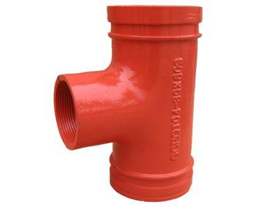 <em style='color:red'>溝槽管件</em>絲接<em style='color:red'>三通</em>圖片