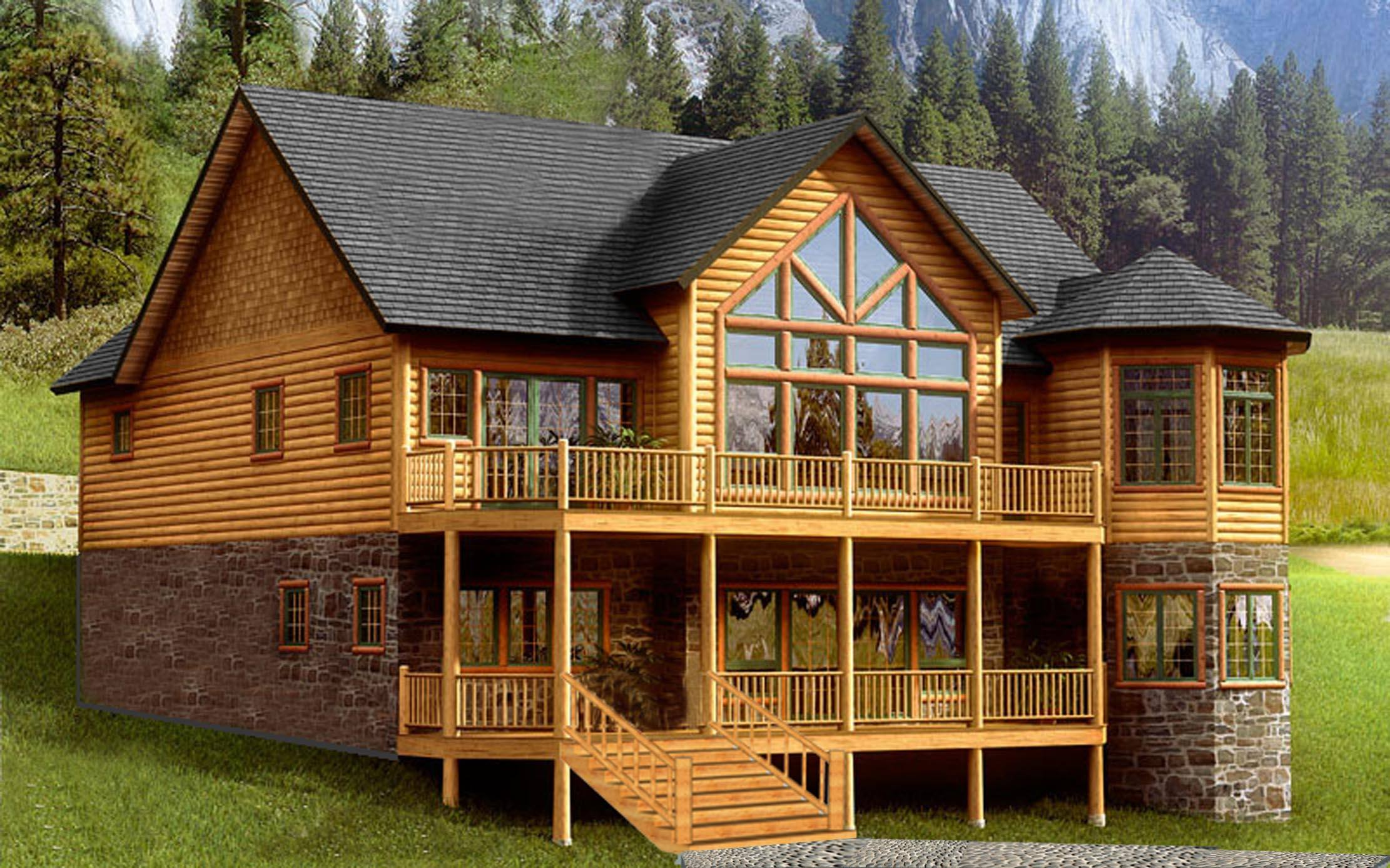 木别墅图片