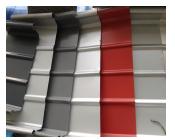 直立锁边铝镁硅<em style='color:red'>屋面板</em>图片