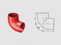 U<em style='color:red'>PVC88</em>°<em style='color:red'>等径弯头</em>图片