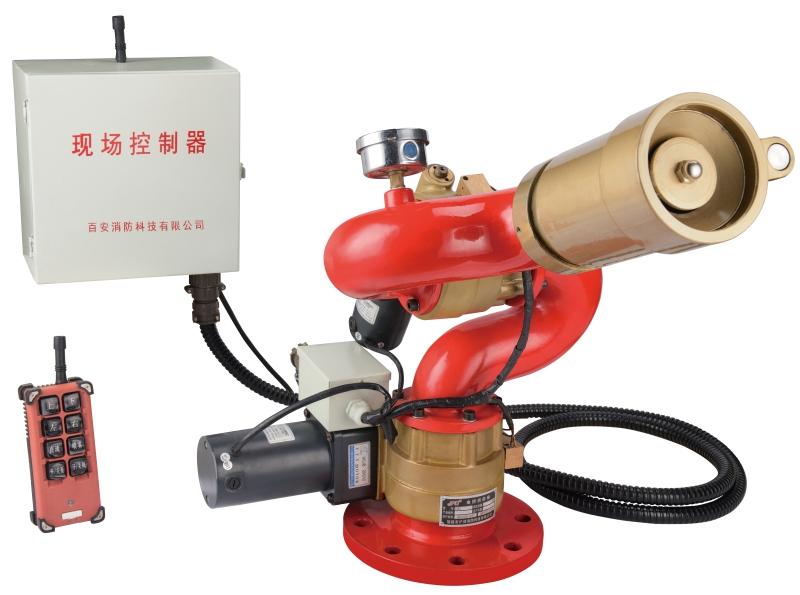 固定式電控式消防炮圖片