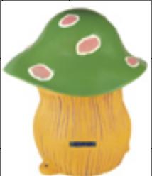 卡通蘑菇造<em style='color:red'>型草</em>地扬声器图片