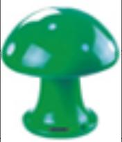 蘑菇造<em style='color:red'>型草</em>地扬声器图片