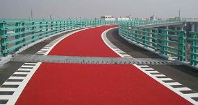 MMA<em style='color:red'>减速带</em>彩色防滑图片