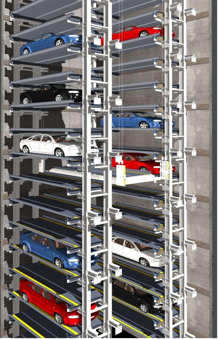 升降横<em style='color:red'>移</em>类机械式停车设备图片