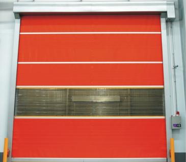PVC<em style='color:red'>快速</em>卷帘门图片