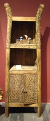 仿古装饰柜(柚木)图片