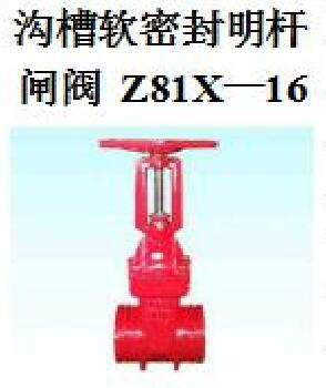 <em style='color:red'>沟槽</em>软密封<em style='color:red'>明杆闸阀</em>图片