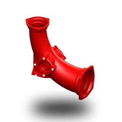 铸铁<em style='color:red'>变径</em><em style='color:red'>门弯</em>图片