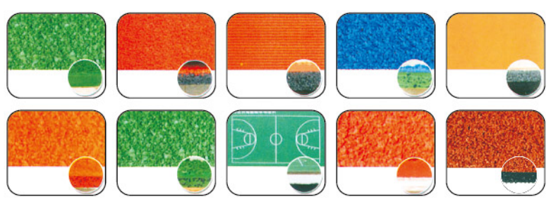 聚氨酯弹性运动<em style='color:red'>地坪系统</em>图片