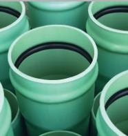 低压排污、排水用高性能<em style='color:red'>硬聚氯乙烯</em>(PVC-UH)管图片