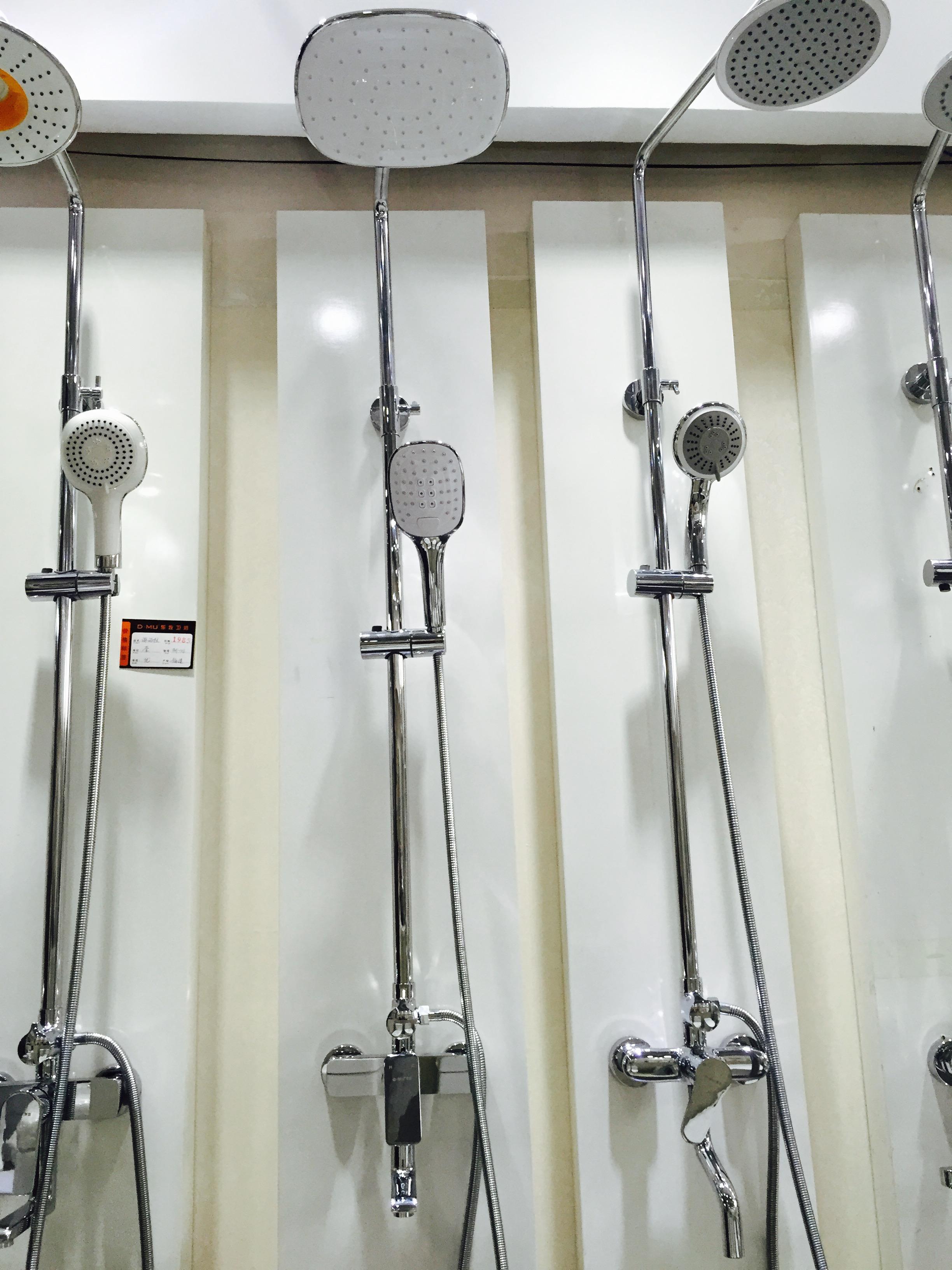 单把淋浴柱图片