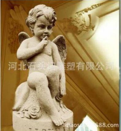 小天使雕塑图片