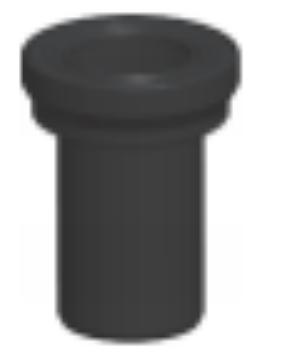 HDPE<em style='color:red'>挂壁式</em><em style='color:red'>带密封圈</em>厕具<em style='color:red'>连接管</em>图片