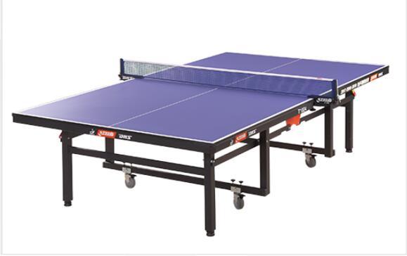 高级整体折叠式<em style='color:red'>乒乓球台</em>图片
